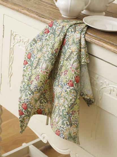 Golden Lily Tea Towel