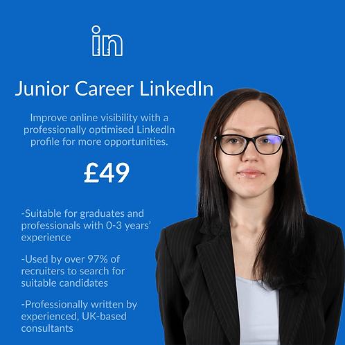 Junior Career/ Graduate LinkedIn Profile
