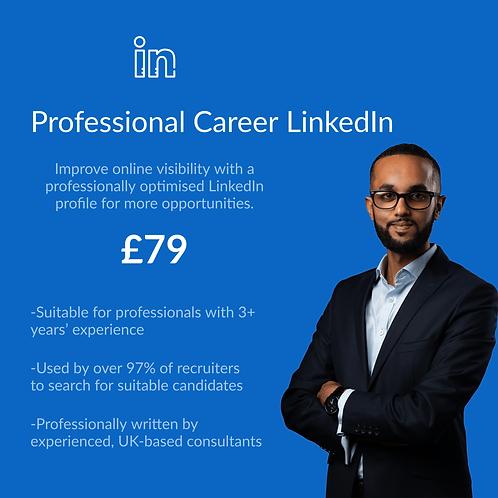 Professional Career LinkedIn Profile