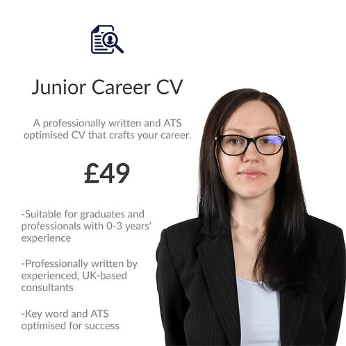 Junior Career/ Graduate CV