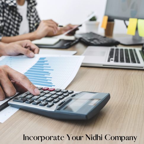 What is a Nidhi Company and its process of incorporation?