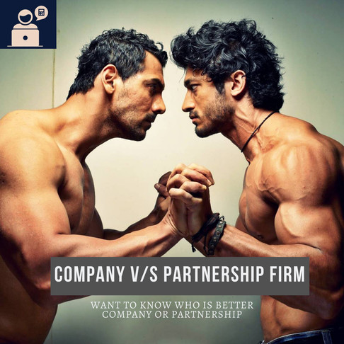 Private Limited Companies V/S Partnership Firm