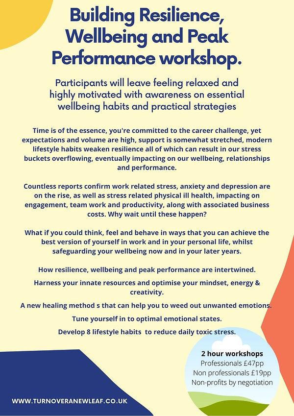 Workshop_ Resilience Wellbeing Peak Perf