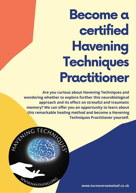 Havening Technques Practitioner workshop