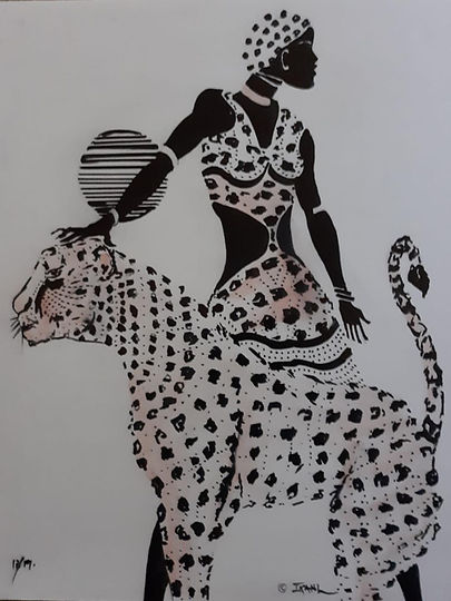 black and white lady and tiger.jpg
