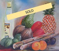 Fruit Veggies Rum - Sold