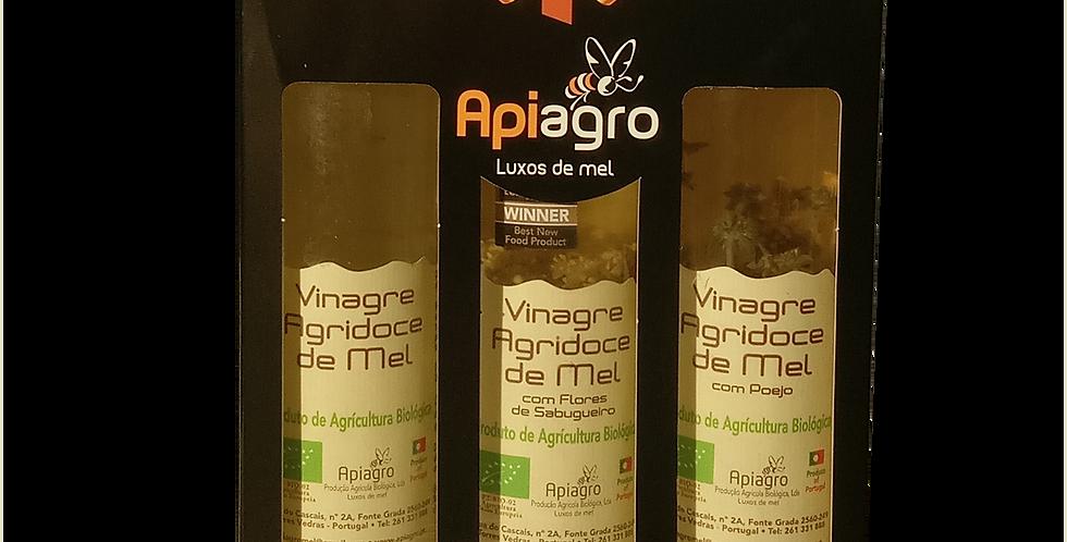 Conjunto 3 Vinagres Biológico