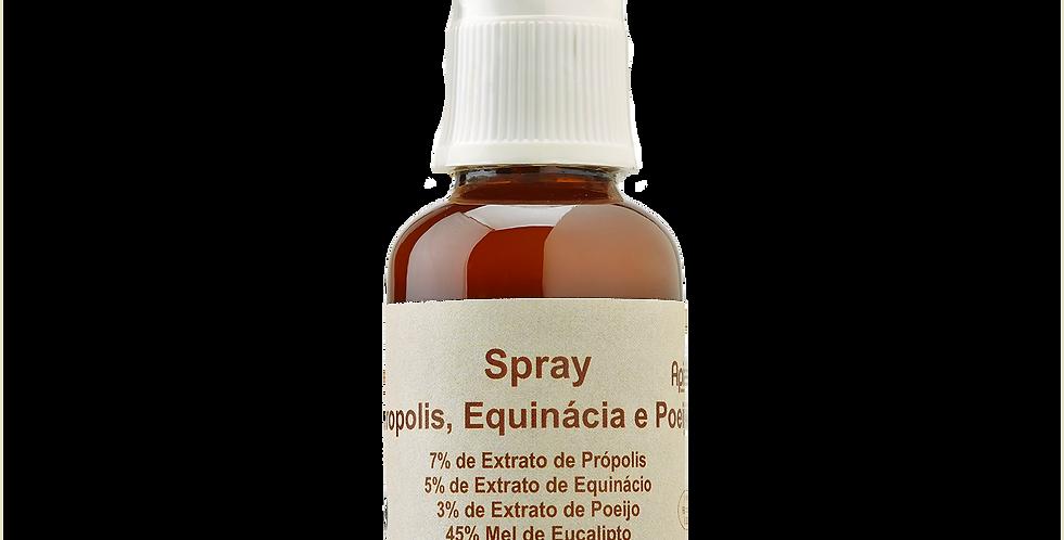 Spray Propólis, Equinácia e Mel de Poejo