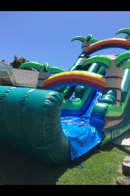 18 Foot Tropical Slide