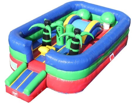Bouncy Toddler Playground