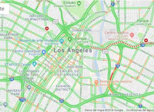 Google Maps ahorra tiempo con las capas de tráfico, tránsito y ciclismo