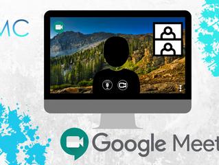 Personaliza tus fondos de pantalla en tus videollamadas, Google Meet.