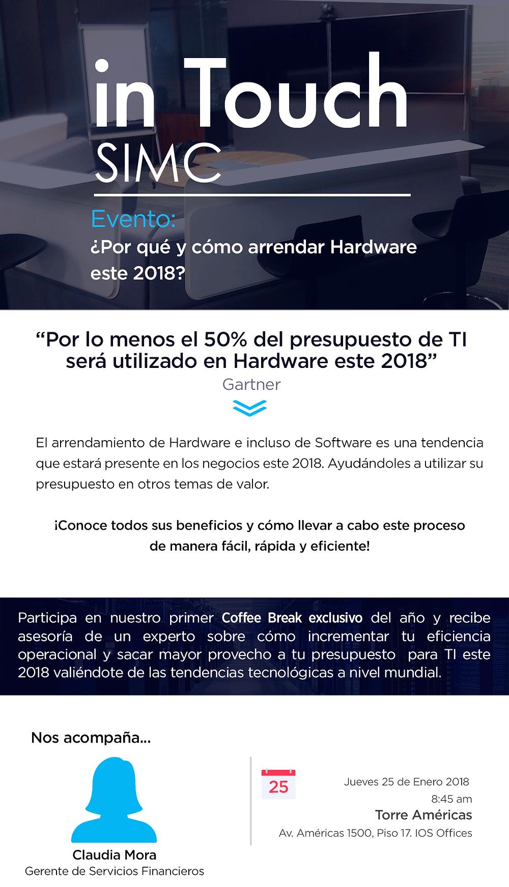 Evento Tecnología 2018 Guadalajara