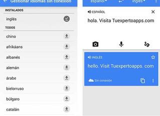 Pasos para usar el traductor de Google sin Internet
