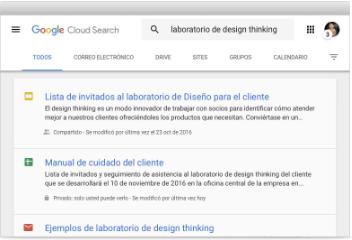 Google cloud Serch
