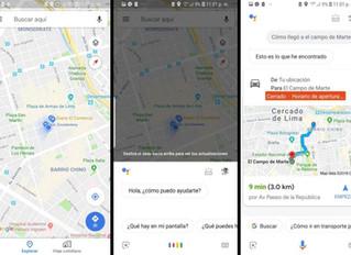 ¿Cómo activo el asistente virtual de Google en la app?
