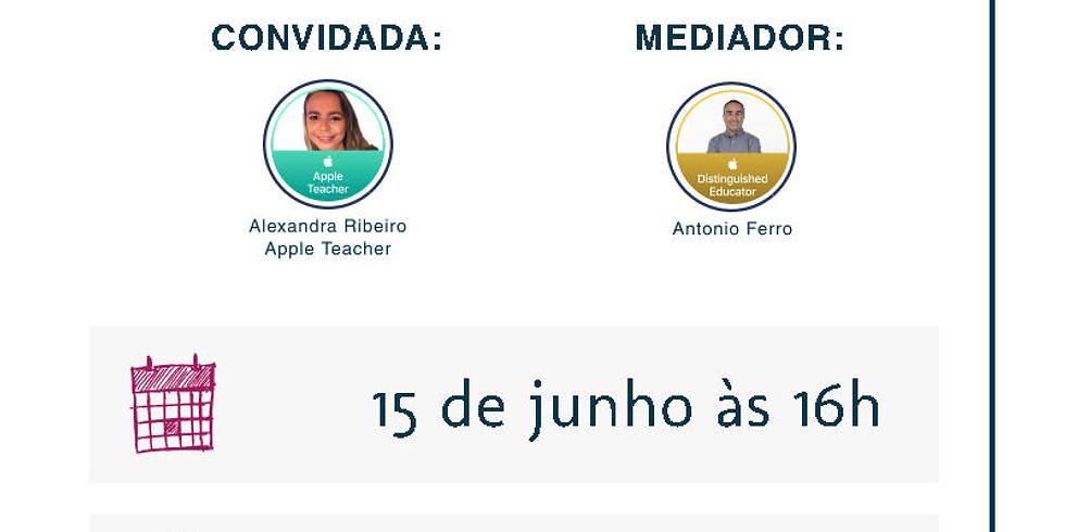 Compartilhando práticas Apple Teacher