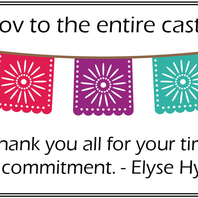 Congrats from Elyse!