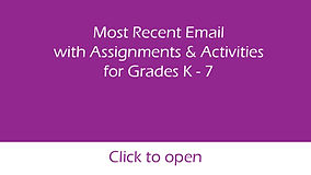 most recent email k - 7 for virtual page