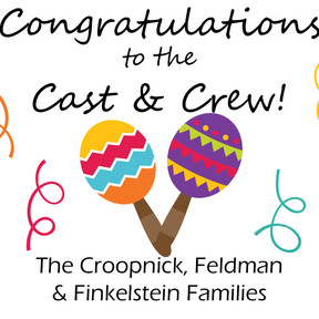Congrats to the Cast & Crew