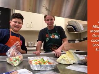 Grade 7 Cooks for The Second Step (TSS)