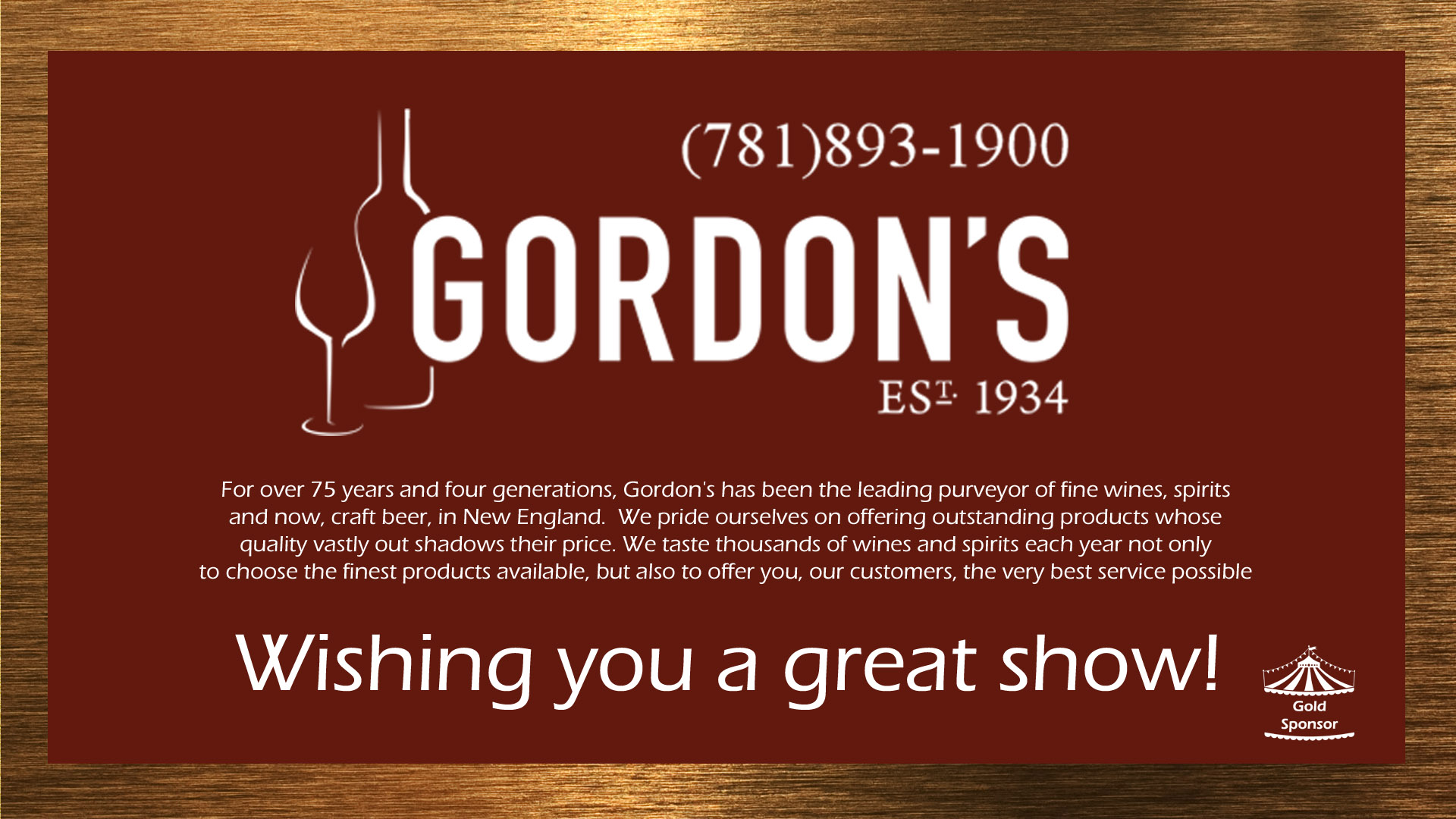 Click for more info on Gordon's