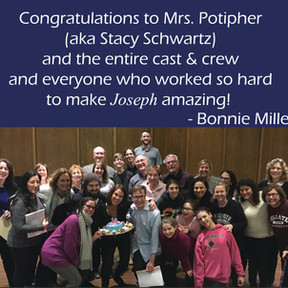 Congrats from Bonnie Millender