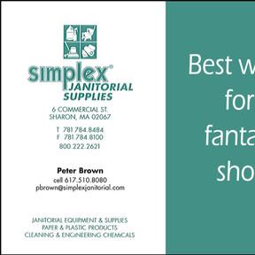Congratulations from Simplex!