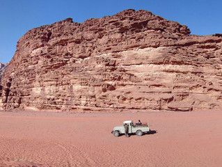 Glamping through the Desert