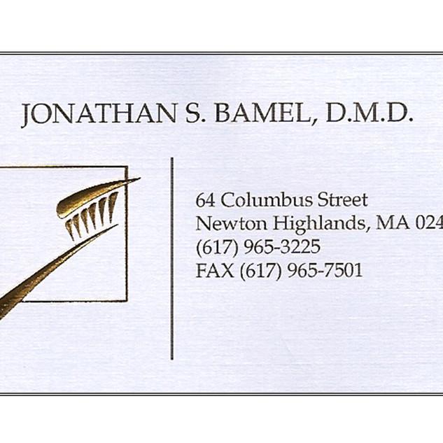 Jon Bamel, DMD