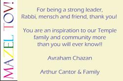 arthur cantor greeting 2