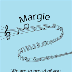 Congratulations Margie!