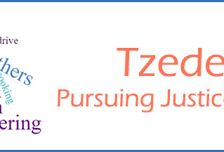 Tzedek: Pursuing Justice, an Introduction