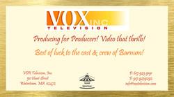 Click link for more info on VOX