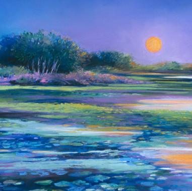 Moonrise, Long Lake