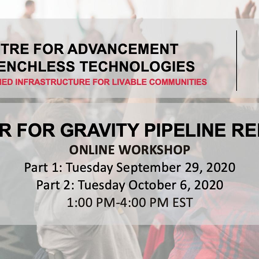 CIPP Liner for Gravity Pipeline Renovation