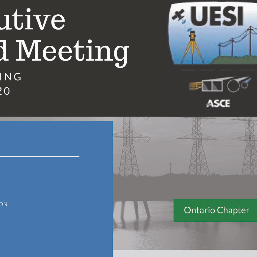 UESI Ontario Chapter General Open to ALL Prospective members