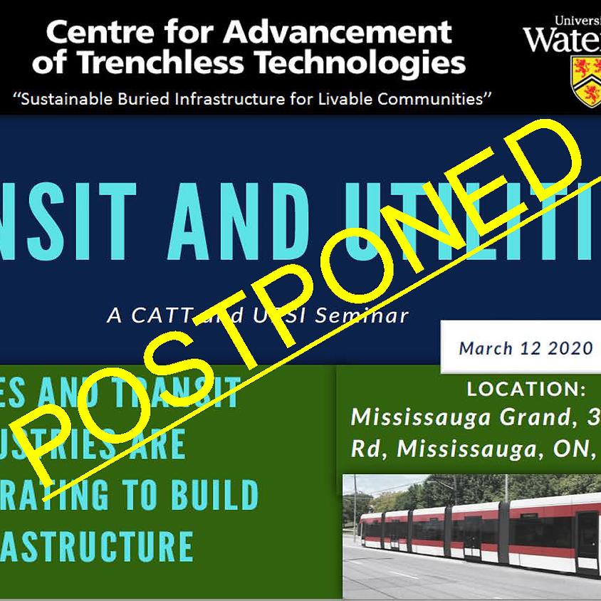 Transit and Utilities - Postponed