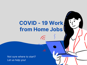 COVID Work From Home Jobs Hiring Right Now 2020