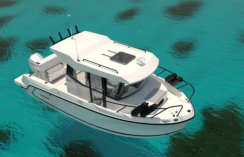 Quicksilver boat 705 pilothouse