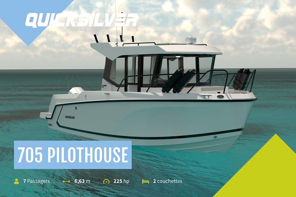 Quicksilver 705 Pilothouse