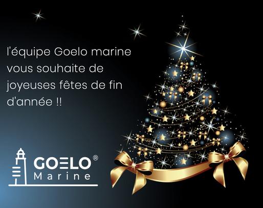 l'équipe Goelo marine marine vous souhaite de joyeuses fêtes de fin d'année !! 🎄