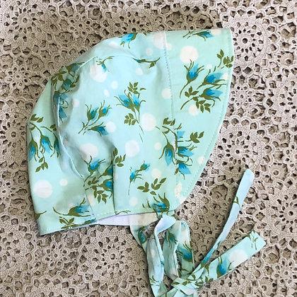 Aqua sun bonnet