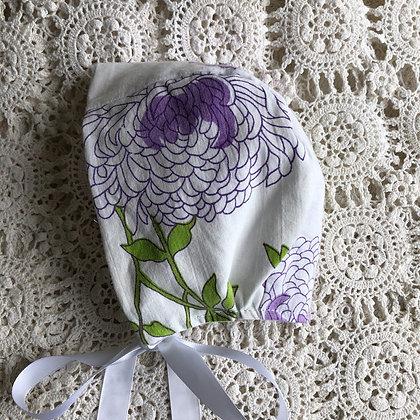 Cynthia purple bonnet