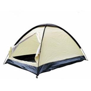 Zelt, Kuppelzelt, weisses Zelt, weisses Campingzelt,