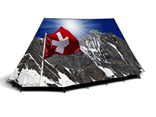 Schönes Zelt, Schweizer Zelt, Zelt Schweiz Fieldcandy