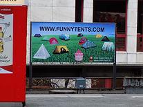 Funnytents Plakat / Lustige Zelte online kaufen, bestellen