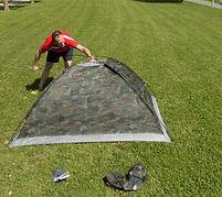 Lustige Zelte - Coole Zelte Aufbau