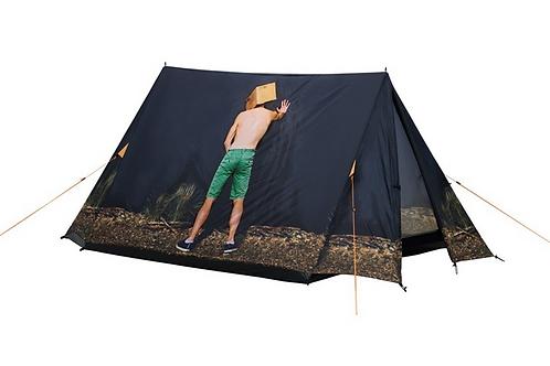 Cooles Zelt mit Mann, Zelt Mann