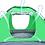 giftgrünes Zelt